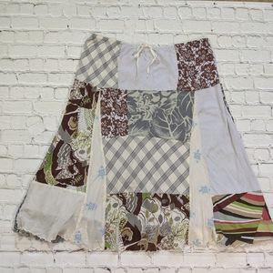 American Eagle Outfitters Skirts - American Eagle Outfitters Patchwork Cotton Skirt